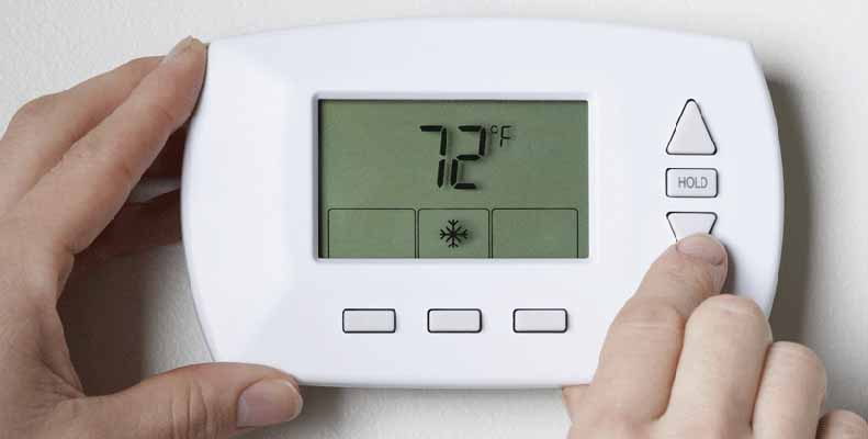 Recommended Use Of Thermostat Settings To Start The Spring
