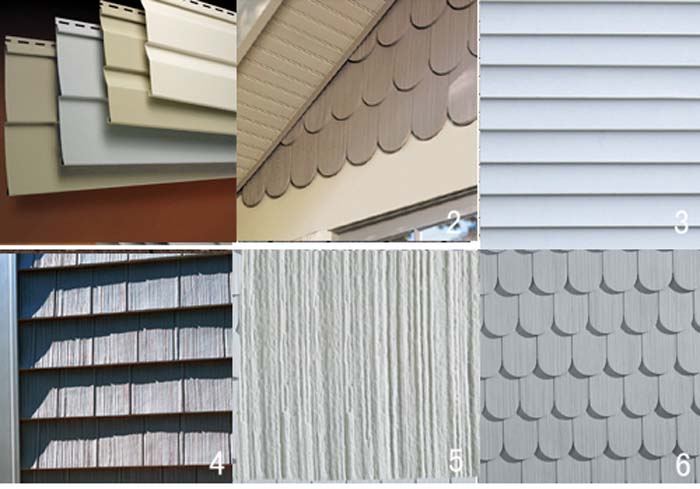 What are some types of siding to consider for your home for Types of siding