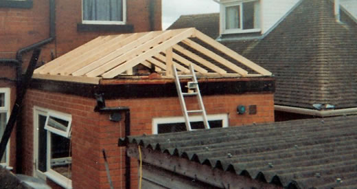 should i convert my flat roof to a pitched roof first